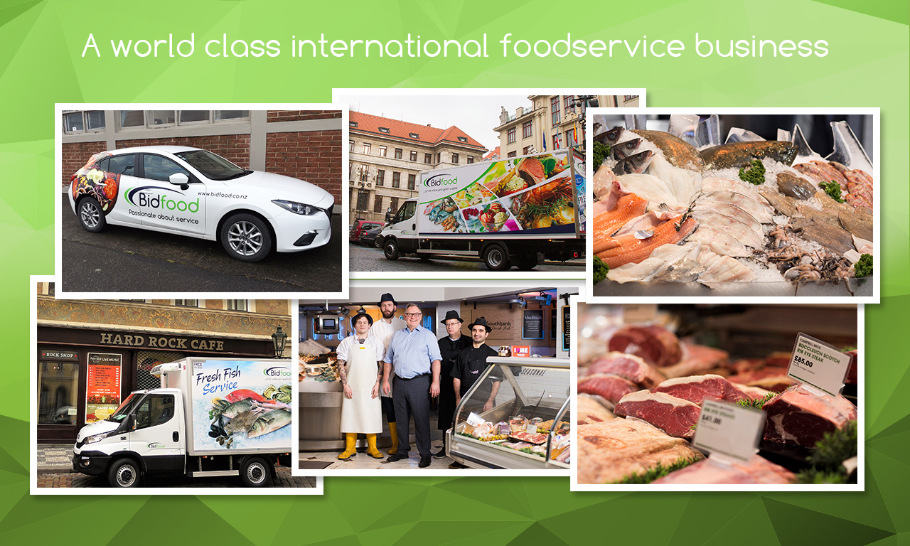 Future focused - A world class international foodservice business
